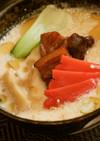 霧色ラーメン再現レシピ!釧路、豚骨スープ