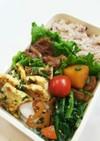 お弁当(12/5)豚肉と玉葱の甘辛炒め