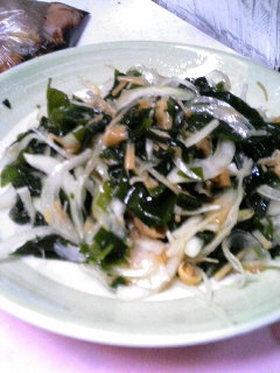 ★簡単★なめ茸のおつまみサラダ☆