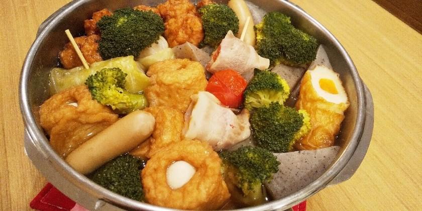 圧力鍋で♪野菜たっぷり♪コンビニ風おでん