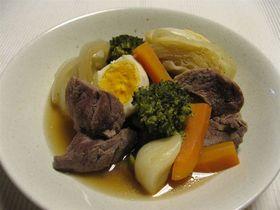 豚肉と野菜のさっぱり煮