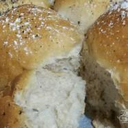 HBで一次発酵。簡単あんこちぎりパン