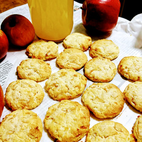 はかり不要 りんごソフトクッキー 簡単!