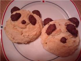 【お豆腐マフィン】でパンダのパンだ!
