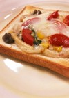 ♬食パンと残りのグラタンでパングラタン♬