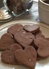 米粉★ココアとクルミのクッキー♪
