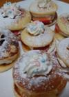 グルテンフリー☆プチパンケーキ