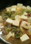 白菜de子供用も同時に作れる麻婆豆腐♪