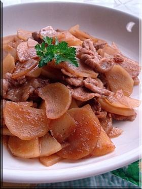 豚肉とジャガイモのうま辛炒め