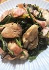 ほうれん草と牡蠣のソテー
