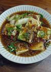 ひき肉で肉豆腐