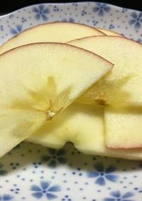 *食べやすいりんごの切り方*