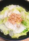 簡単鍋♡白菜とツナのフライパン蒸し