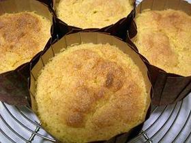 卯の花とにんじんのふんわりカップケーキ★