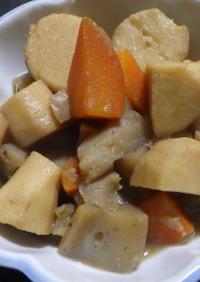 親芋と蒟蒻の炒め煮