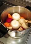 離乳食中期、後期☆圧力鍋でやわらかお野菜