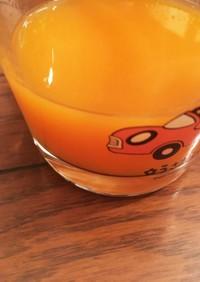 果汁100%、みかん大量消費&ビタミンも