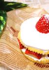 クリスマスに♪超簡単ショートケーキ