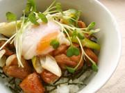 おうちでカフェ・ランチ☆てりたま丼の写真