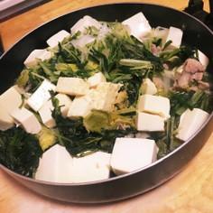 蒸し野菜の簡単お鍋(*´˘`*)♡