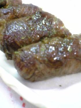 牛肉の肉巻きおにぎり