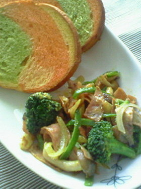 野菜のタンドリー風味