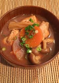 赤味噌鍋〜某有名店風〜
