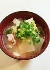 大根 白菜 豚肉 おかず味噌汁