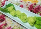 小松菜の隠れ薔薇を♡