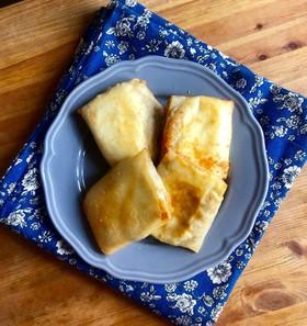 れんこんと鶏ひき肉のチーズ春巻き