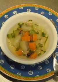 とうがんしまやさいスープ