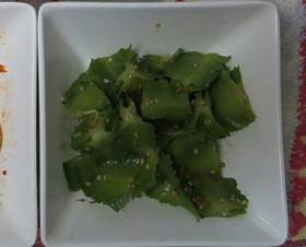四角豆のナムル