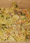 ミックスキャベツの簡単サラダ