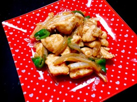 簡単☆鶏胸肉のポン酢焼き