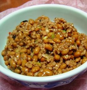 麻婆納豆(マーボー納豆)*