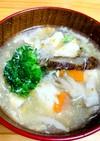 ブロッコリーと豆腐のかきたまスープ