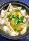 簡単!手羽元チューリップの鶏生姜鍋