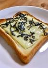 【おかずパン】塩こんぶチーズonトースト