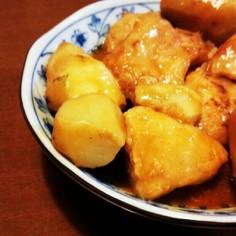 里芋と鶏肉の韓国風煮物