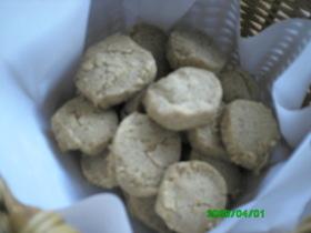 簡単☆シンプルなクッキー(卵・乳不使用)