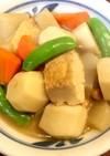 厚揚げと野菜の簡単煮物