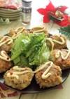 鯖缶と薩摩芋のパン粉なし焼きコロッケ