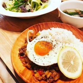 タイ料理*ガパオライス
