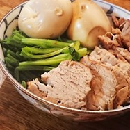 簡単!焼煮豚!(お肉を変えると角煮!)