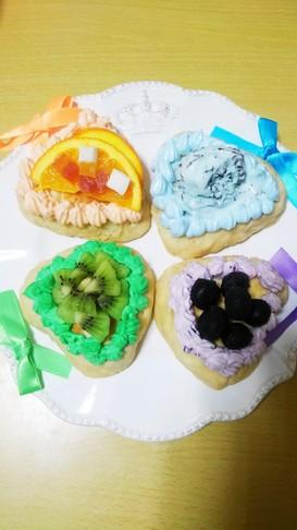 舞祭組CDデビュー記念日4色スイーツピザ