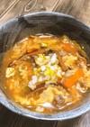 脂肪燃焼!豚キム玉スープ!!!
