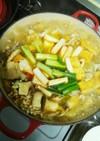 鍋の素なし♪簡単キムチ鍋