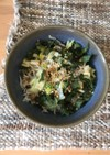 簡単ランチ 薬味とシラスのご飯