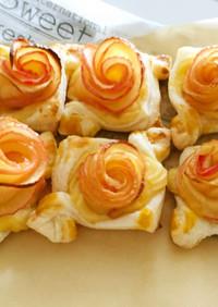 甘い香りのバラが咲いた♡アップルパイ