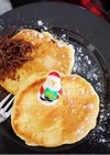 ホケミで簡単☆ふわふわスフレパンケーキ